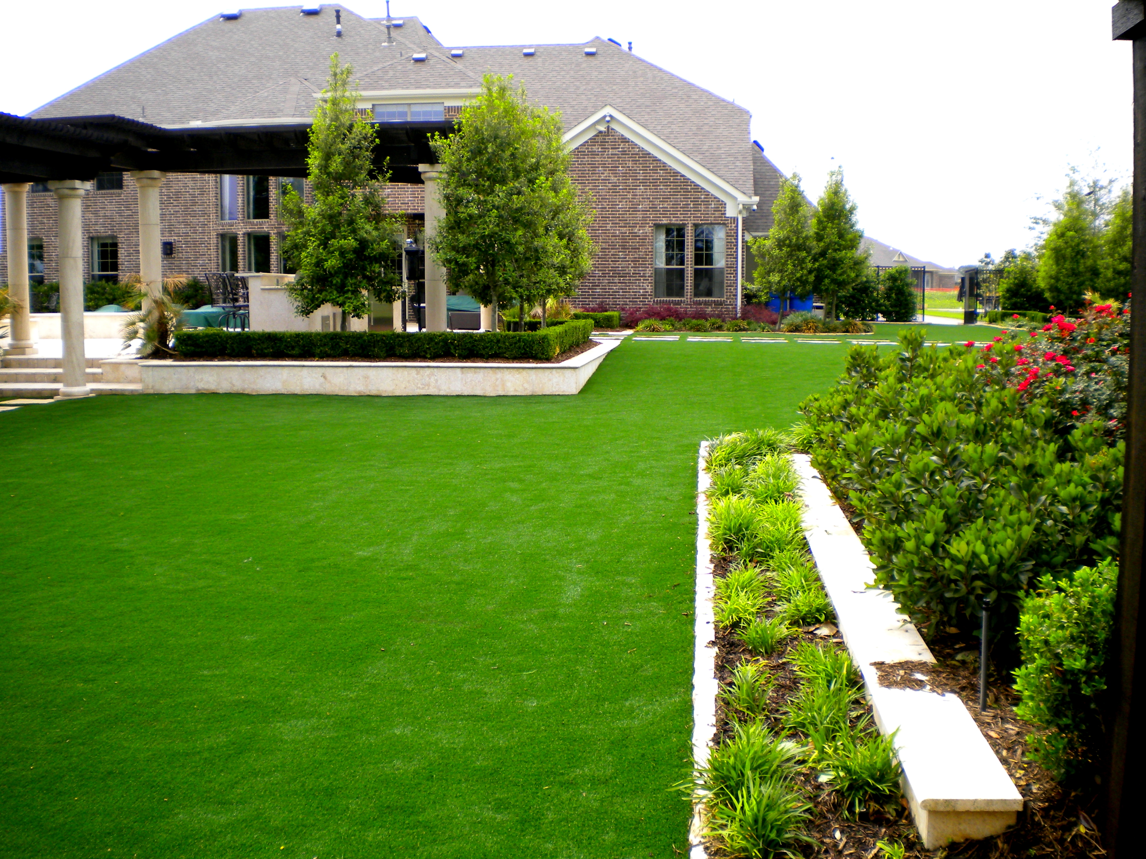 It s great that children can play on artificial turf from